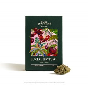 Black Cherry Punch - Concept Package and Bud on White